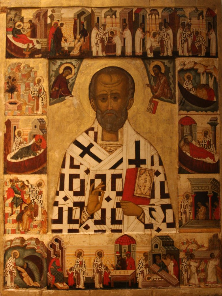 16th century icon of St. Nicholas