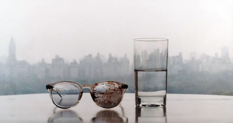Lennon's bloody glasses